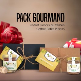 Pack Gourmand - 2 coffrets miel en 1