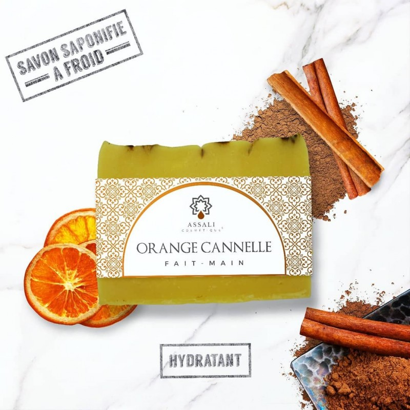 Savon Orange-Cannelle