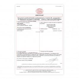 Huile de nigelle Habachia Bio Certification BIO Ecocert