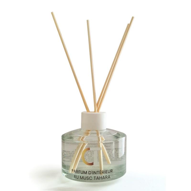 Diffuseur de parfum à tiges au Musc Tahara