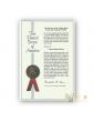 Certificat de dépot de brevet sur le Pot de 7 guerison