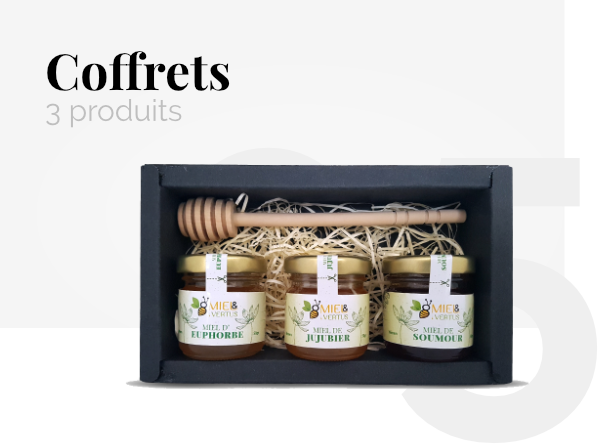 Coffrets Miel & Vertus