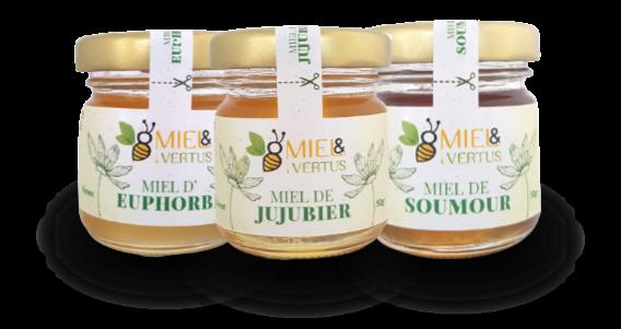 Coffret de miels du Yémen